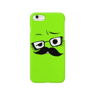 i*Color - HIGEMEGANE* 【 Yellow-Green 】 Smartphone cases