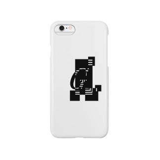 シンプルデザインアルファベットGワンポイント Smartphone cases