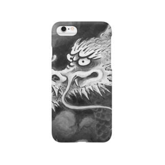 水墨の龍 Smartphone cases