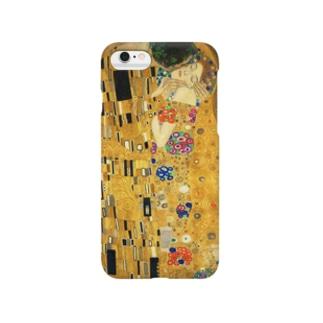 グスタフ・クリムト『 接吻(The Kiss) 』 Smartphone cases