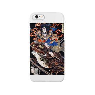 歌川国芳『 天竺徳兵衛 』 Smartphone cases