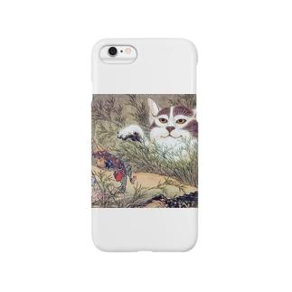 河鍋暁斎『 化け猫 』 Smartphone cases
