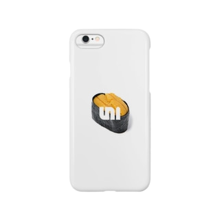 UNI(雲丹バージョン) Smartphone cases