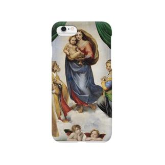 ラファエロ・サンツィオ『 サン・シストの聖母 』 Smartphone cases