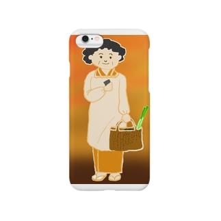 昭和のおかあちゃん スマートフォンケース