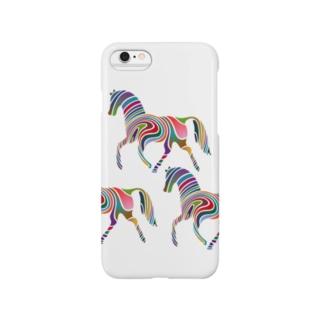 虹の馬 スマートフォンケース