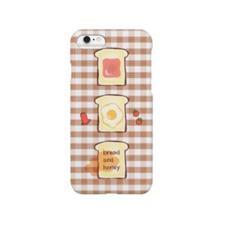 朝食トースト Smartphone cases