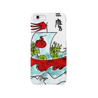 #いくぞ岩田屋  宝船 Smartphone cases