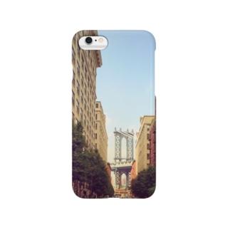 ニューヨークブリッジがみえる Smartphone cases