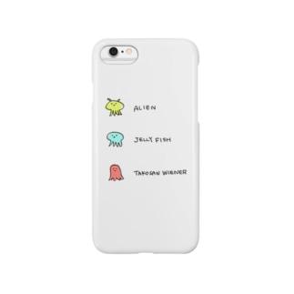 宇宙人クラゲウィンナー Smartphone cases