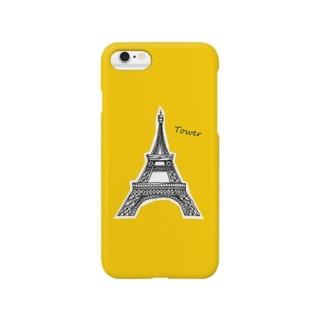 タワーというシンボル Smartphone cases