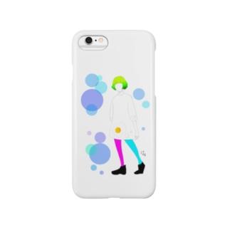MEDAMAYAKIガール Smartphone cases