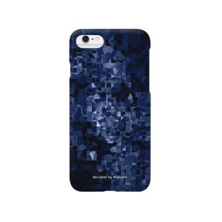 amanogawa ver1.2 blue Smartphone cases