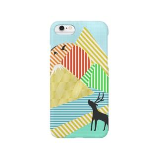 山鳥川鹿 Smartphone cases