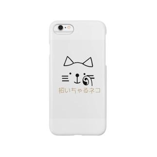 招いちゃるネコ Smartphone cases