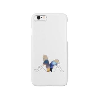 背中合わせの人 Smartphone cases