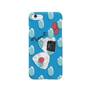 おにぎり(横向き) Smartphone cases