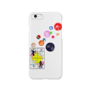 (しょうじ×やもりT)=ヤモティー!! Smartphone cases