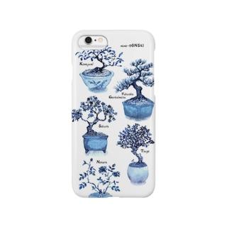 豆盆栽コレクション Smartphone cases