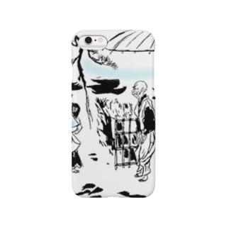#いくぞ岩田屋 秀吉と千利休 Smartphone cases