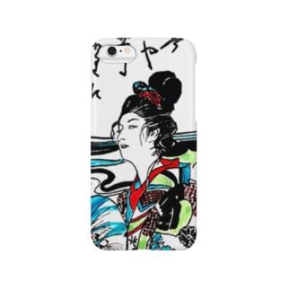 #いくぞ岩田屋  高尾太夫 Smartphone cases