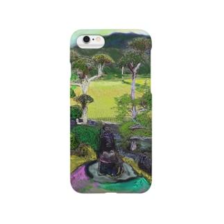 かえるの庭 Smartphone cases