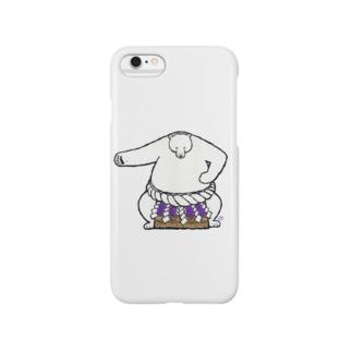 白熊山(雲竜型) Smartphone cases