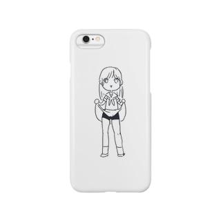 ちらりオンナノコ Smartphone cases
