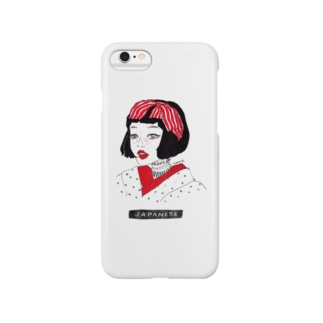 KIMONO GIRL Smartphone cases