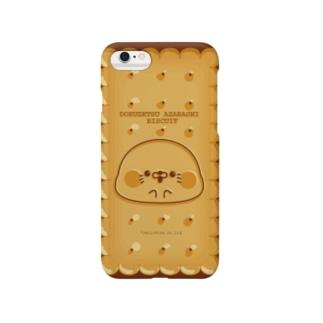 毒舌あざらしビスケット/iPhoneケース Smartphone cases