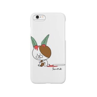 ウサギになりたかったんです。と本人は供述しており Smartphone cases