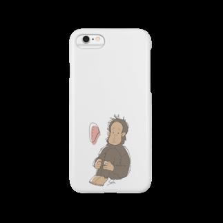 祚宙(チンパンジー)の特別ケース Smartphone cases