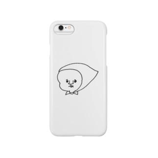 顔面蒼白ずきん Smartphone cases