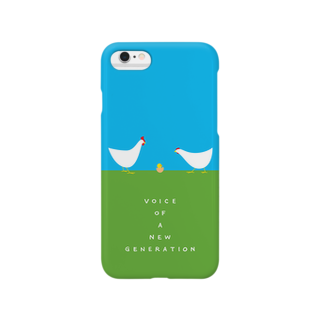 brakuroのvoice of ヒヨコ Smartphone cases