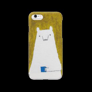 ヤマムラ エツコのくま子の朝 Smartphone cases