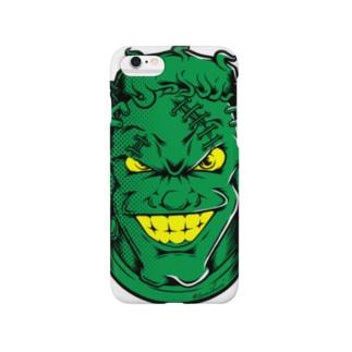 フランケン FACE【カラー】 Smartphone cases