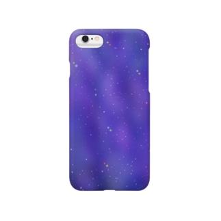 宇宙柄のケース Smartphone cases