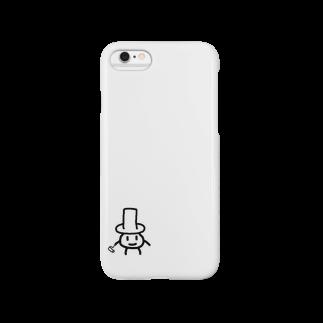 めののシルクハットのあいつ Smartphone cases