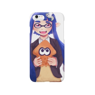 青イカガール Smartphone cases