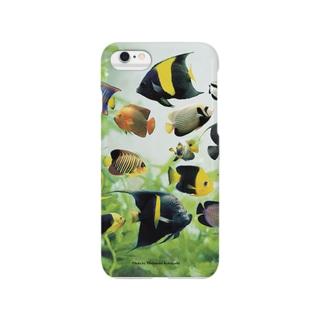 マリンエンゼルフィッシュ Smartphone cases