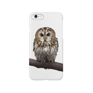 モリフクロウ Smartphone cases