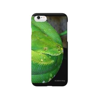 ミドリニシキヘビ Smartphone cases