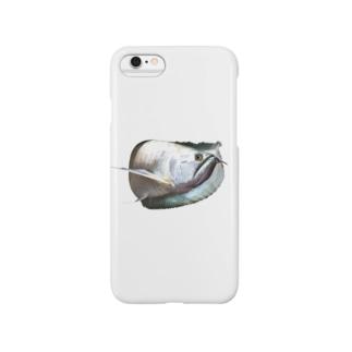 シルバーアロワナ Smartphone cases