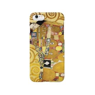 グスタフ・クリムト『 生命の樹 』(部分) Smartphone cases