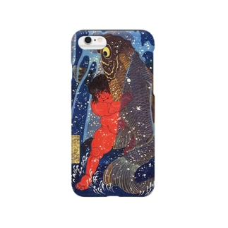 歌川国芳『 坂田怪童丸 』(金太郎) Smartphone cases