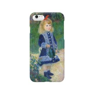 ルノワール『 じょうろを持った少女 』 Smartphone cases