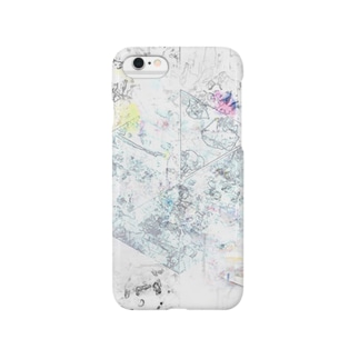 線と色と点と Smartphone cases