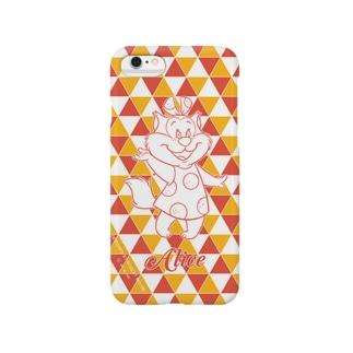 アリス(トライアングルカラー) Smartphone cases