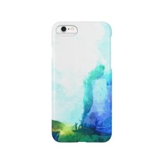 蒼と墓守 Smartphone cases