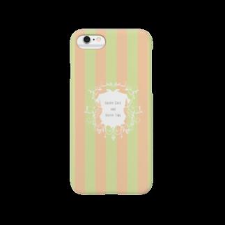 こんなの欲しいをご提供!ArtDesiartのおしゃれボーダーiPhoneケース♥シャンデリア風 Smartphone cases